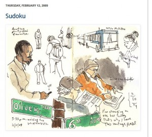 Gabriel Campanario sketch Feb 12, 2009