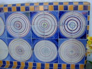 Tile Circles