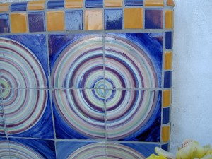 Tile Circle, detail