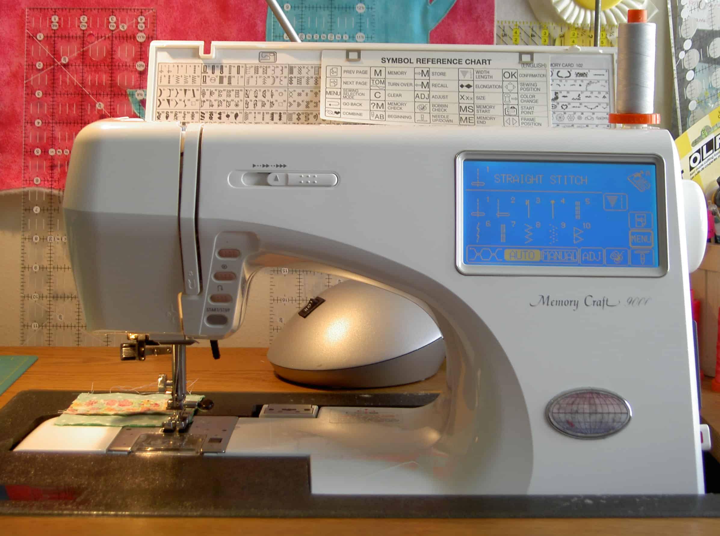 Janome memory craft 9000 - Janome 9000