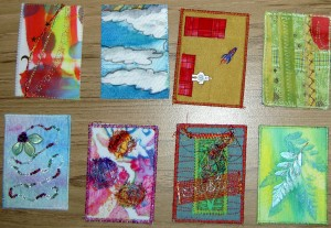 My new ATCs