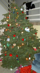 Decorated tree 2009