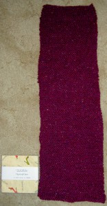 Knitted Scarf: complete