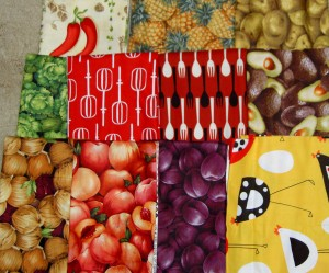 Food Fabrics for Mom
