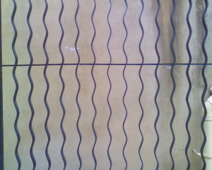 Blank Wall Covering