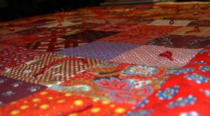 Children's Quilt Project Quilt detail