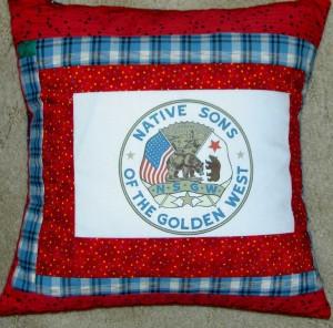 NSGW logo pillow