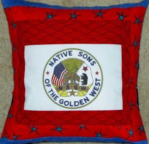 NSGW logo pillow #2