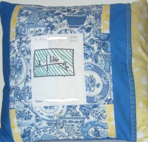 Literature Teacher Pillow-back