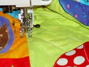 Open Toe Walking Foot Quilting