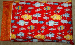 Robot Pillowcase #2
