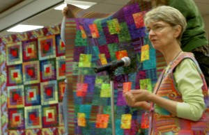 Speaking and Showing Quilts