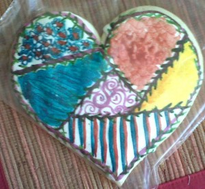 Crazy Quilt Cookie