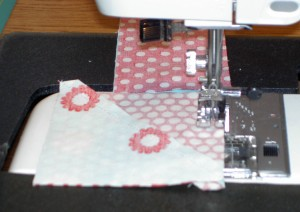 Sew 2 HSTs together