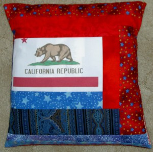 2011 NSGW Bear Flag Pillow #2