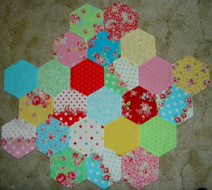 Much larger hexagon test piece
