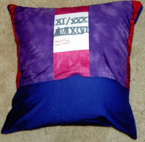2011 SS & Reading Teacher Pillow back