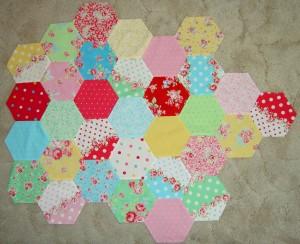 Hexagon piece