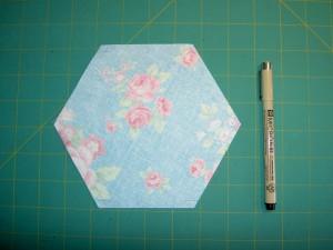 Hexagon Angles Marked
