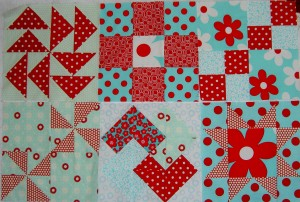 Sampler Blocks, early July 2011