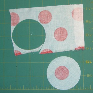 Cut out Center Circle