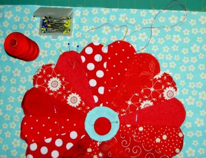 Center Circle Ready to Applique'