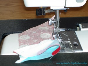 Sew from Top to Middle