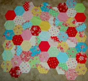 Hexagons, early October 2011