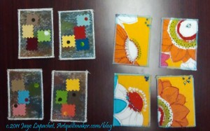 Maureen & my ATCs