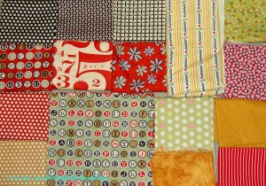 Fabric selection for quilt