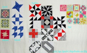 January A-B-C Challenge Blocks