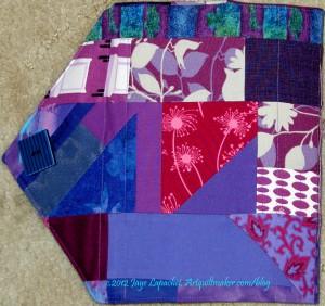 Purple Journal Back