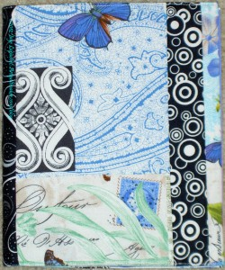 Blue Belle Fleur Journal Cover - front