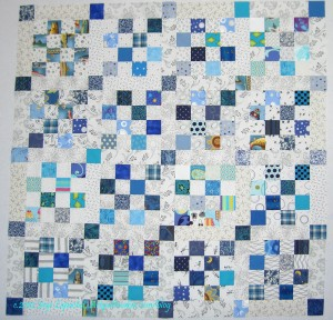 Blue Donation Quilt