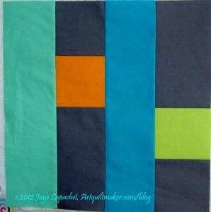 QuiltCon block entry #1