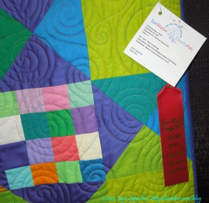 Kona challenge detail with ribbon
