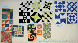 A-B-C Challenge Blocks- July