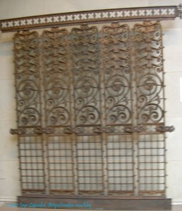 Manhattan Building Elevator Grille, 1889-91