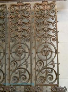 Manhattan Building Elevator Grille, 1889-91 detail
