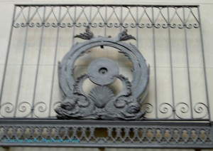 Fisher Building Elevator Grille, 1895-96