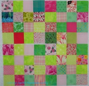 4 Pink & Green Donation blocks