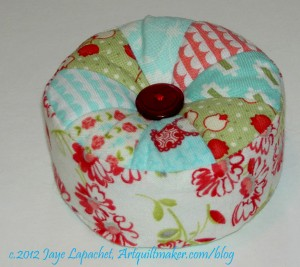 Vintage Modern Pincushion
