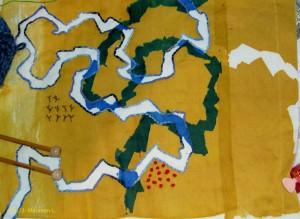 Maureen's Fabric Map