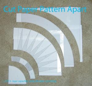 Cut Paper Pattern Apart