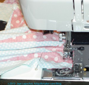 Sew Sections Together