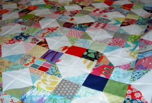 Patchwork Wheel Donation top