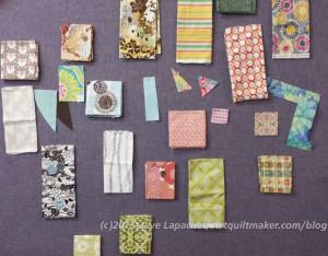 Interim fabric palette