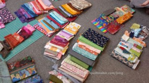 Variety of Fabric Groupings