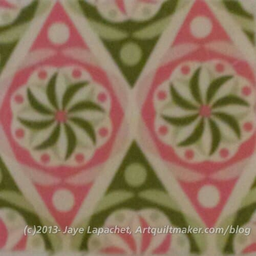 My fabric choice