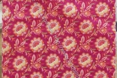 Pink Flowery Pillowcase